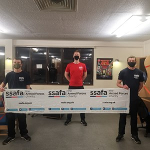 Local Platoon take on 24 hour 'gameathlon' for SSAFA