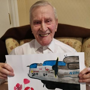 SSAFA celebrates 100th Birthday of Flt Lt Ernest Holmes DFC