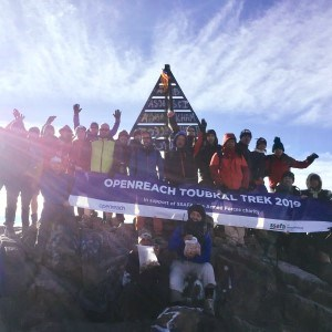 Openreach raise £45,000 with Mount Toubkal trek