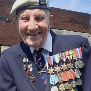 SSAFA veteran receives WW2 medal from Russia