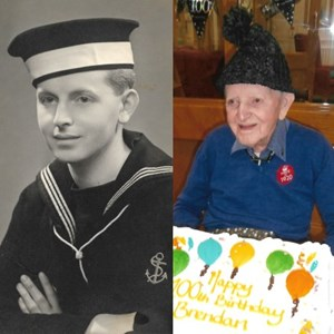 Glasgow Helping Heroes helps veteran celebrate his 100th birthday!