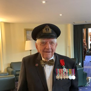 A local war hero from Marnhull in Dorset, Dennis 'Roy' Cooper died last week at the age 102.