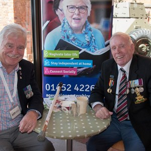 Tommy, a Korean War veteran, became involved with SSAFA and Age UK's Joining Forces project.