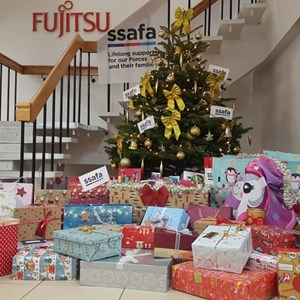 Fujitsu lends a helping hand to SSAFA this Christmas